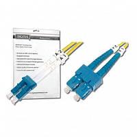 Оптический патч-корд DIGITUS LC/UPC-SC/UPC, 9/125, OS2,duplex,10m