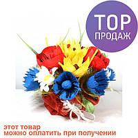 Букет из конфет Полевые цветы / оригинальный подарок