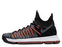 """Оригинальные мужские кроссовки для баскетбола Nike Zoom KD 9 Elite """"Hyper Orange"""""""