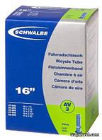 """Камера 16"""" х 1,75-2,5"""" (47/62 - 305) Schwalbe AV3 EK, AV40"""