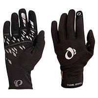 Перчатки зимние Pearl Izumi THERMAL CONDUCTIVE, длинные пальцы, черные, размер S