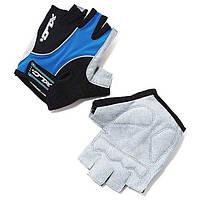 Перчатки Atlantis XLC, сине-серо-черные, L