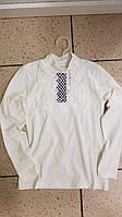 Детская школьная трикотажная блузка для девочки 12-13 лет