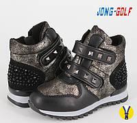 Демисезонная обувь оптом. Ботиночки для девочек оптом от производителя Jong Golf B8132-0 (8 пар, 27-32)