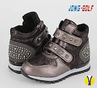 Демисезонная обувь оптом. Ботиночки для девочек оптом от производителя Jong Golf B8132-2 (8 пар, 27-32)