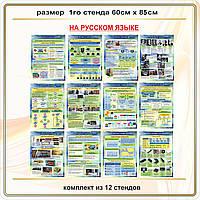 Таблицы для кабинета информатики на русском языке