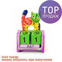 Вечный Календарь Кошка / Оригинальные подарки