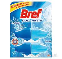 Туалетный блок Bref Duo-Aktiv New Океан 2 запаски х 50 мл 9000101006476
