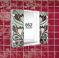 """Навесной шкафчик с зеркалом для ванной комнаты м""""862"""""""