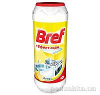 Порошок для чистки Bref Эффект соды Лимон 500 г 9000100254953