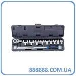 Динамометрический ключ в наборе 11пр. 40-210Нм  AQC-S001NM Licota