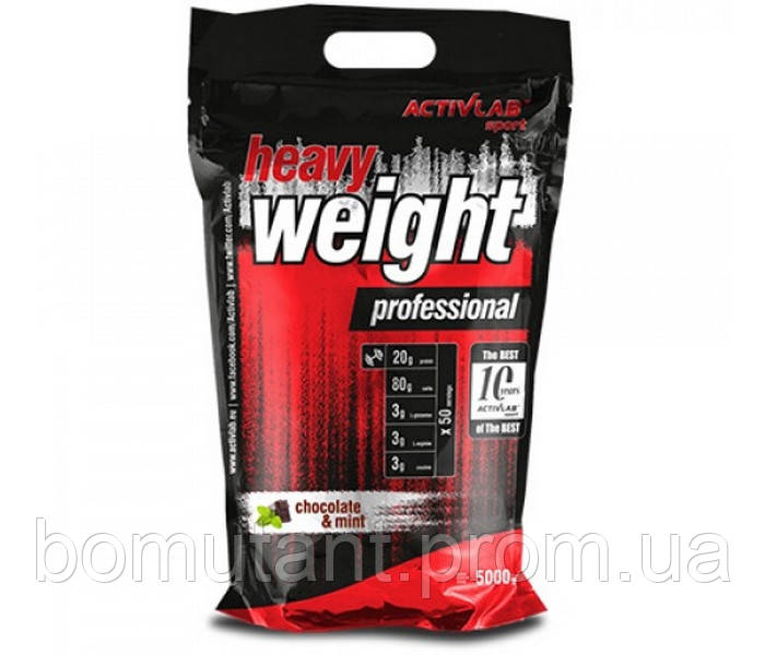 Heavy Weight Professional 5 кг cherry Activlab