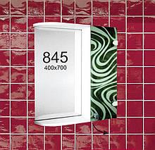 """Навісна шафа з дзеркалом для ванної кімнати м""""845"""""""