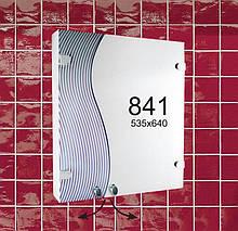 """Шафка дзеркальна у ванну (навісний шафка) м""""841"""""""