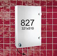 """Навесной зеркальный шкафчик в ванную комнату м""""827"""""""