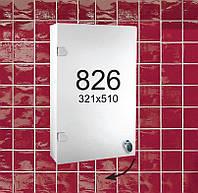 """Навесной зеркальный шкафчик в ванную комнату м""""826"""""""