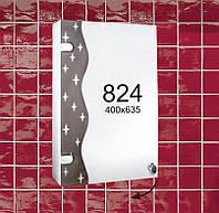 """Навесной зеркальный шкафчик в ванную комнату м""""824"""""""
