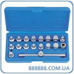 Набор для откручивания масляных пробок 18пр. ATA-0401 Licota