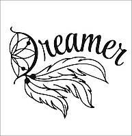 Готовая надпись на термотрансферной пленке - dreamer