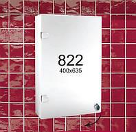 """Навесной зеркальный шкафчик в ванную комнату м""""822"""""""