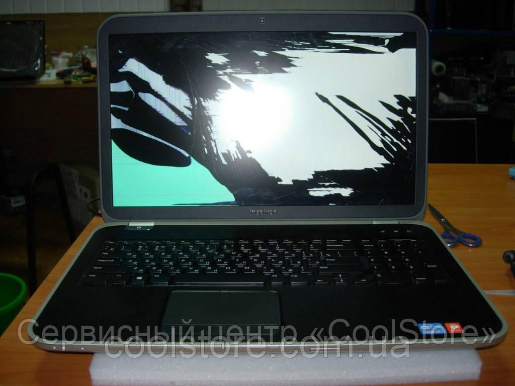 Замена матрицы ноутбука Dell в Донецке