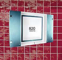 """Зеркальный навесной шкафчик с подсветкой для ванной комнаты (зеркало шкаф) м""""820"""""""