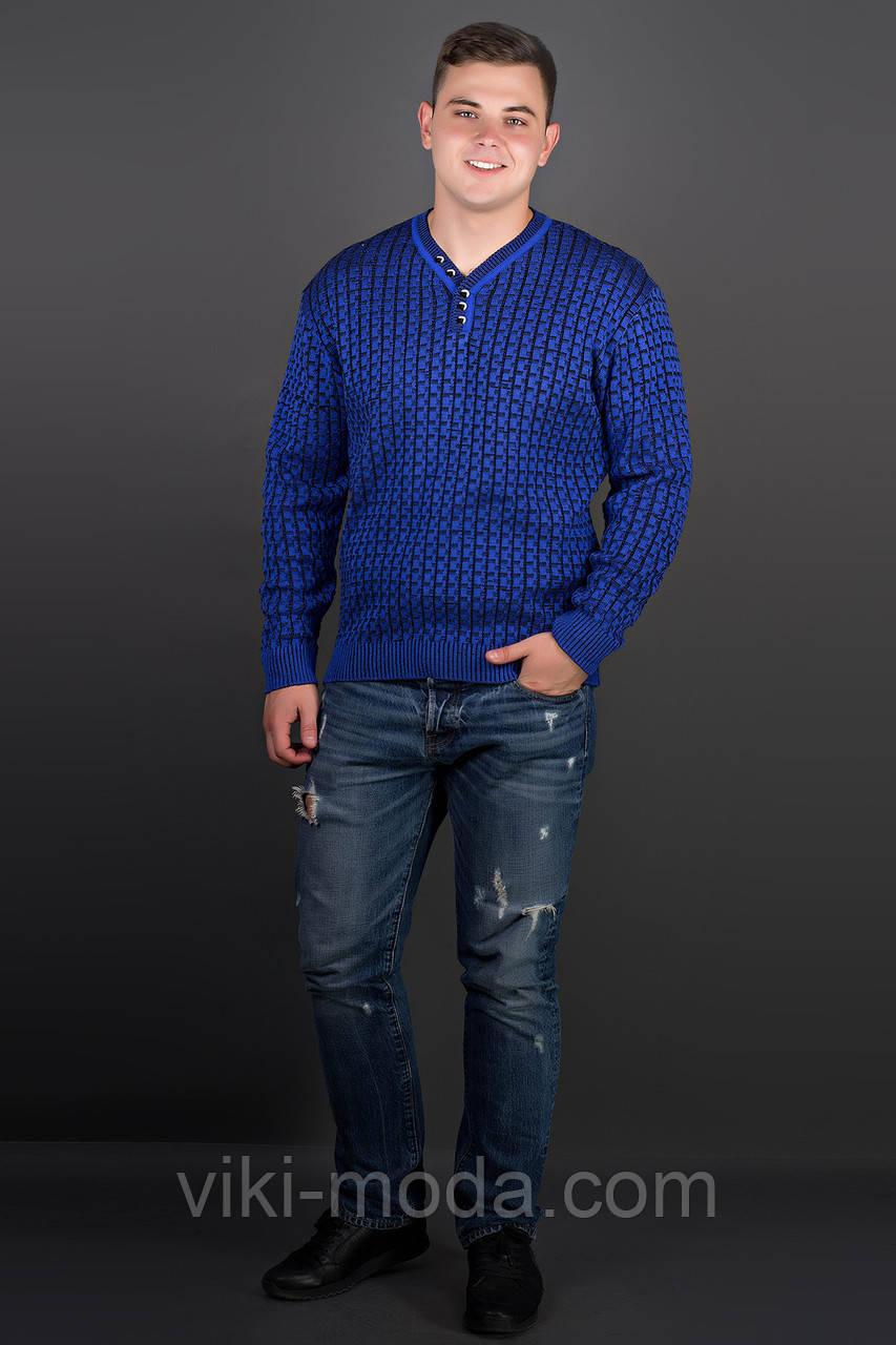 Мужской свитер Влад (электрик)