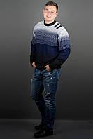 Мужской свитер Евгений (синий), фото 1