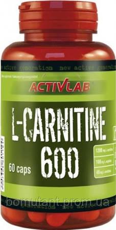 L-Carnitine 600 60 капсул Activlab