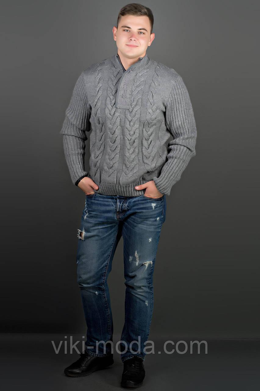 Мужской свитер Равиль (темно-серый)