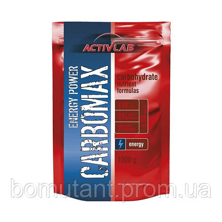 Carbomax energy power 1 кг strawberry Activlab