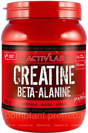 Creatine Beta-Alanine 300 гр grapefruit Activlab