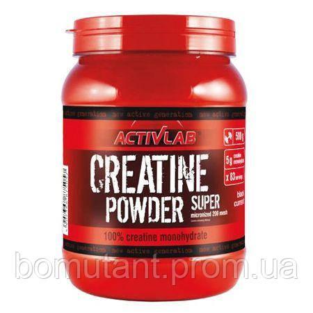 Creatine Powder Super 500 гр black currant Activlab