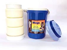 Изотермический контейнер  4,8 л синий, Mega, фото 3