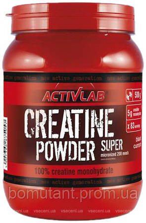 Creatine Powder Super 500 гр kiwi Activlab