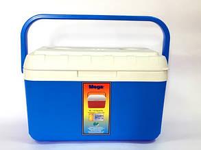 Термобокс 8 л синий, Mega, фото 2