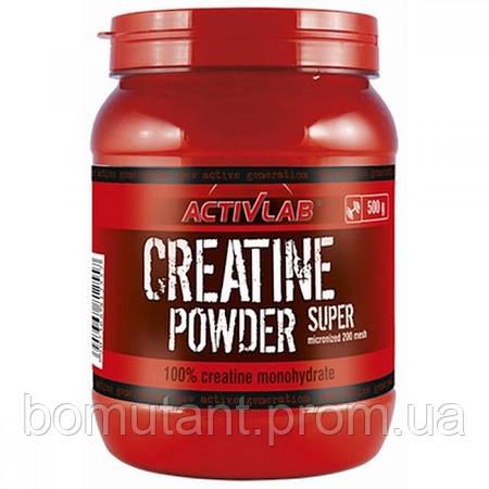 Creatine Powder Super 500 гр orange Activlab