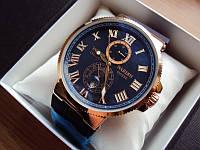 Подарок руководителю мужчине - Часы Ulysse Nardin Maxi Marine Blue 14  (копия)
