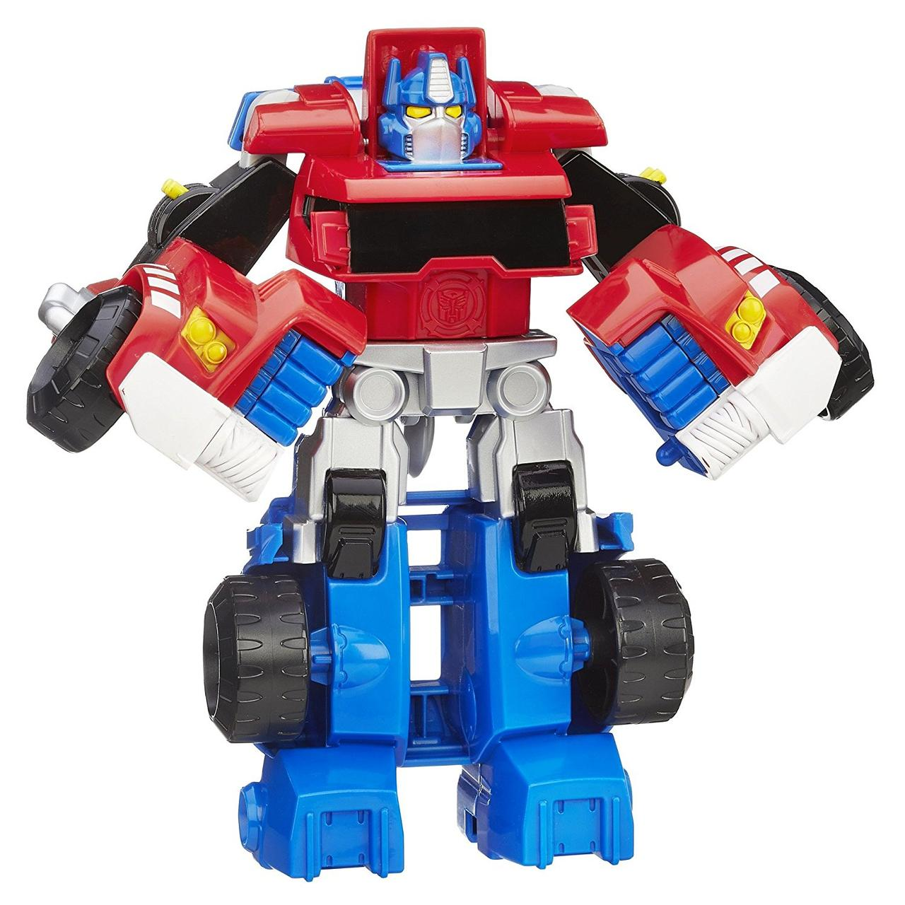 Трансформер Боты Спасатели Оптимус Прайм Playskool Heroes Transformers Rescue Bots Optimus Prime Exclusive Fig