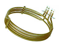 ТЕНБ 4,4кВт 220В — ТЭН конвекции (двигателя вентилятора пароконвектомата), нержавейка 8мм, Dп=240мм