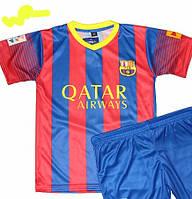 Детско-подростковая(7-15 лет)футбольная форма ''Месси'', ''Неймар''-ФК''Берселона''- сине-красная,домашняя