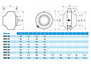 Вентиляторы для круглых каналов Soler&Palau (Солер & Палау) VENT-250B, фото 5