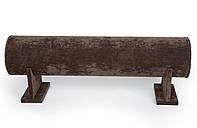Бархатная подставка для обручей (коричневая)