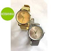"""Наручные женские часы """"Calvin Klein"""" золотистый"""