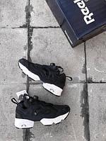 Кроссовки женские Reebok Insta Pump Fury OG Black White 15304 черные