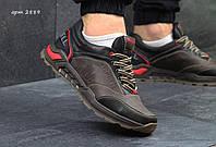 Кожаные мужские кроссовки Merrell коричневые
