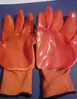 Перчатка оранжевая силикон (12 шт/уп)