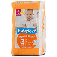 Підгузники Babylove 3 (4-9кг) 50шт.