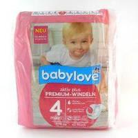 Підгузники Babylove 4 (7-18кг) 42шт.