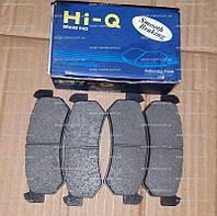 Колодки тормозные задние Лачетти старого образца Hi-Q